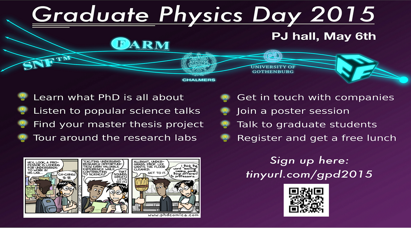 Graduate Physics Day 2015